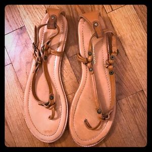 FRENCH CONNECTION Leather Sandals